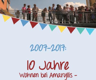 Amaryllis wurde 10 Jahre alt!