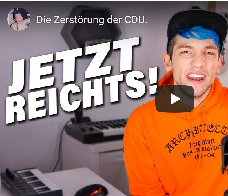 Rezo gegen CDU